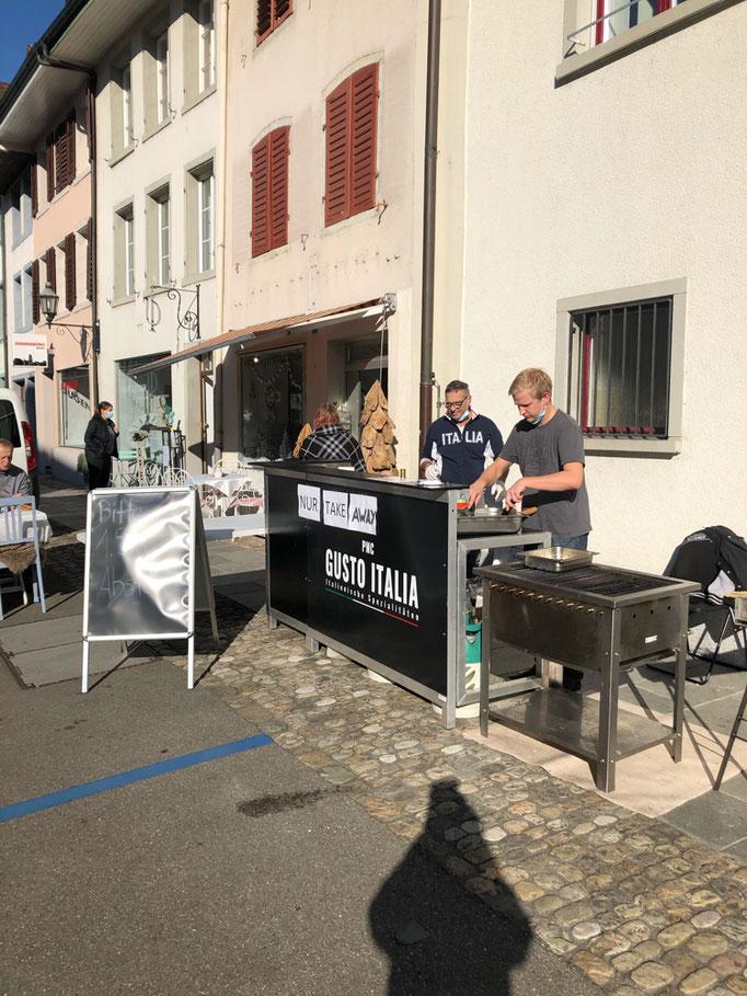 Grill von PMC Gusto Italia Wettingen am Tag der offenen Türe