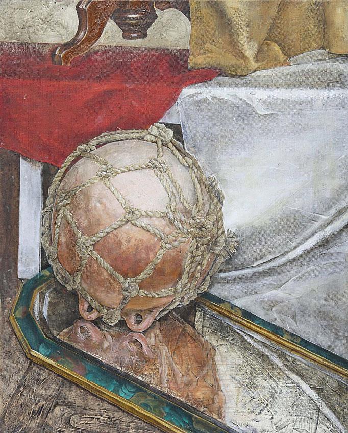 金沢美術工芸大学合格者の静物油彩画作品(F15)