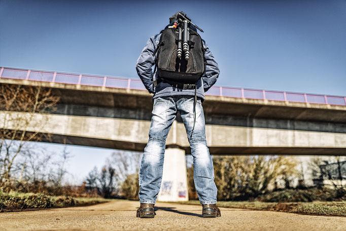 Ein Fotograf auf Wanderschaft