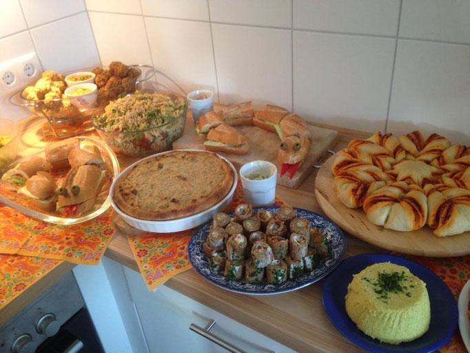 Geburtstagsbuffet Vegan Der Vegane Genussblog