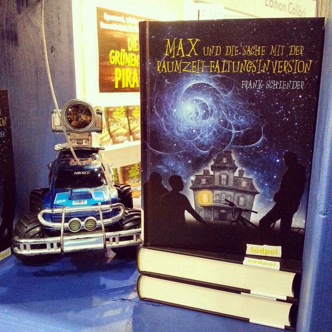 Abenteuer, Technik und ein kleiner Robotor. Eines von vielen Wunschbüchern.