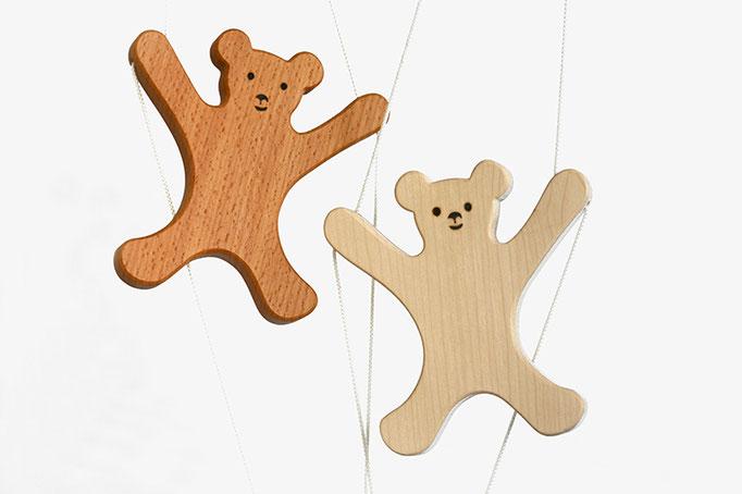 Kletterbär, Holzspielzeug für Kleinkinder, Handarbeit. Geschenk & Accessoire