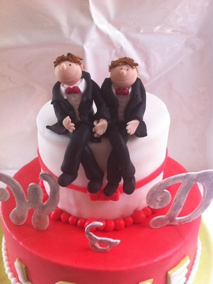 Hochzeitstorte für Herren