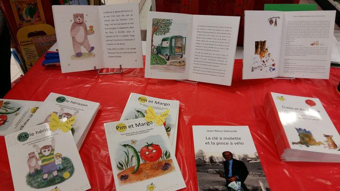 dédicace la pomme qui rit à la librairie papeterie Pascal Delord Maison-Alfort