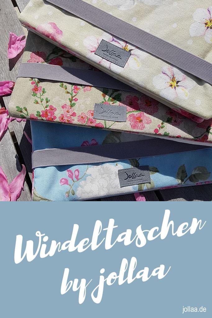 Windeltaschen in vielen Farben und Designs