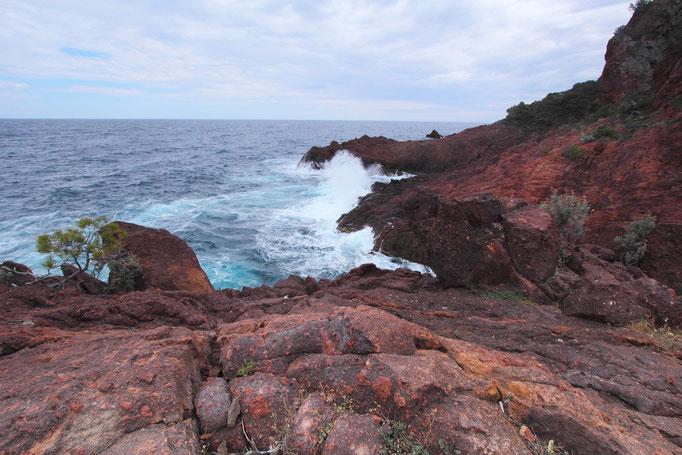 Esterel Küste