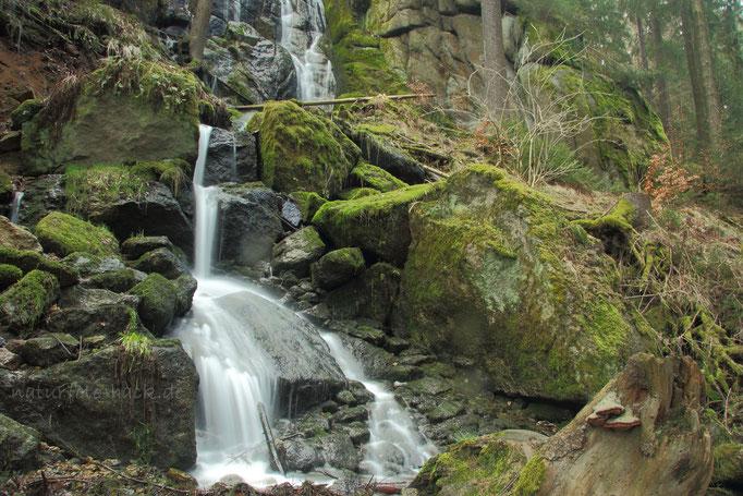 Am Blauenthaler Wasserfall
