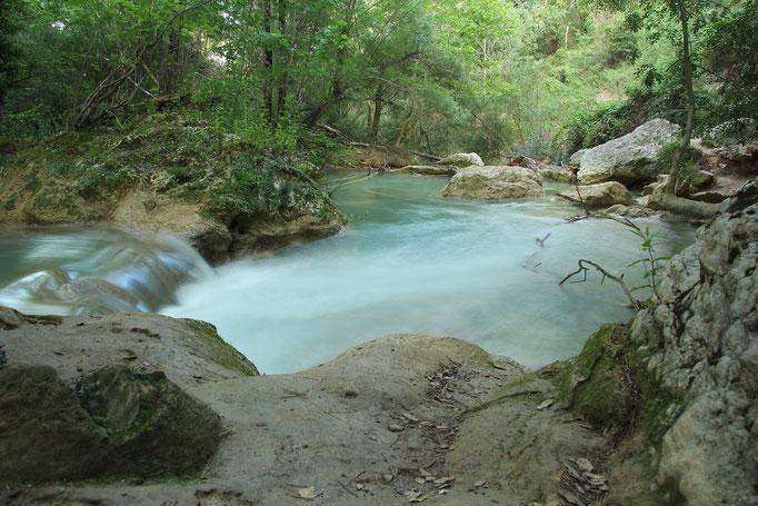 Sillans la Cascada in der Provence