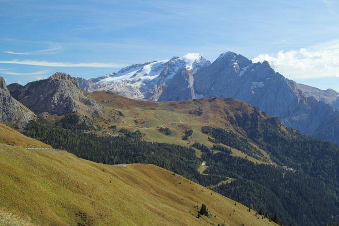 Dolomiten, Blick auf die Marmolada