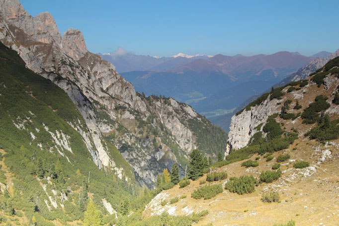 Pragser Dolomiten, Auf dem Weg zum Strudelkopf