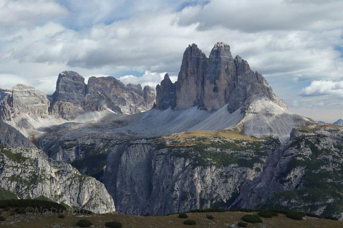 Die Drei Zinnen - Wahrzeichen der Dolomiten