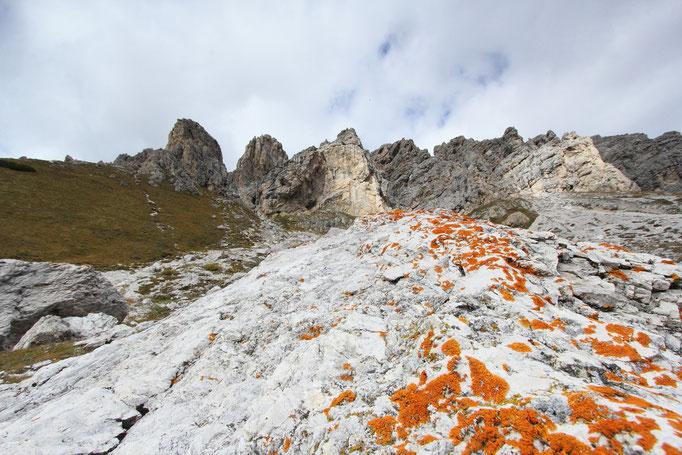 Dolomiten, Puezgruppe, An den Cirspitzen