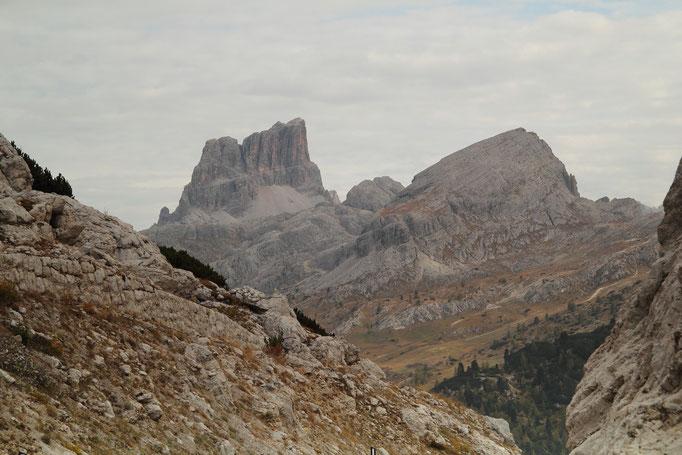 Ampezzaner Dolomiten, Blick zum Nuvolau