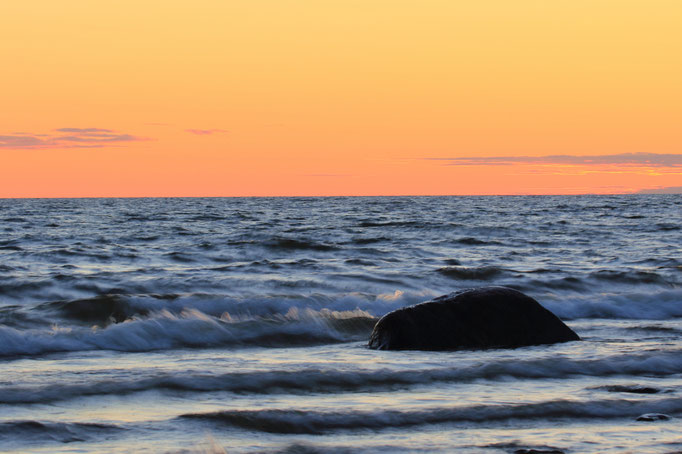 Wenn es Abend wird auf Gotland