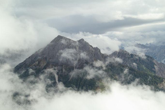 Wie in Watte versunken/ Dolomiten
