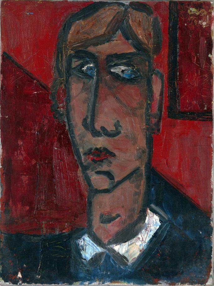 Autoritratto (1978 - Olio su tela - 30x40)