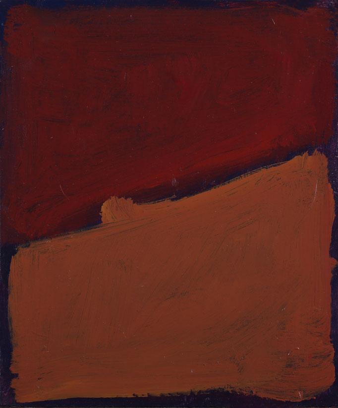 20,6x25,6 - Smalto e pastelli a olio su cartone