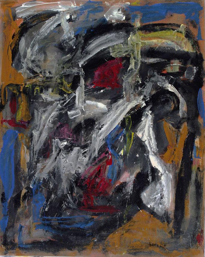 Pensieri (2010 - Acrilico su masonite - 77x96,3)