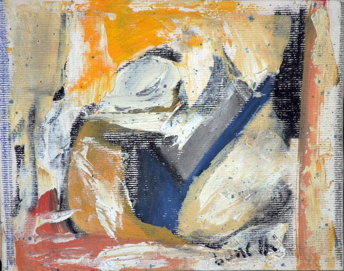 Senza Titolo (2007 - Acrilico su tela - 14x10)