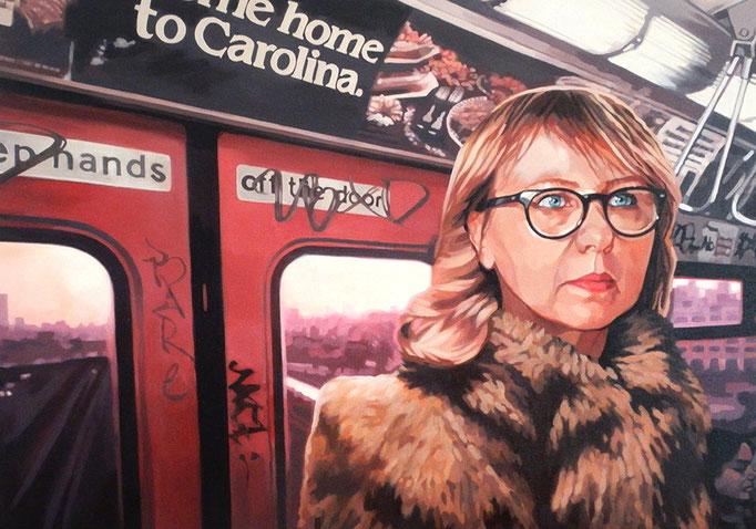 Subway 6 - cm 65x90 - (sold)