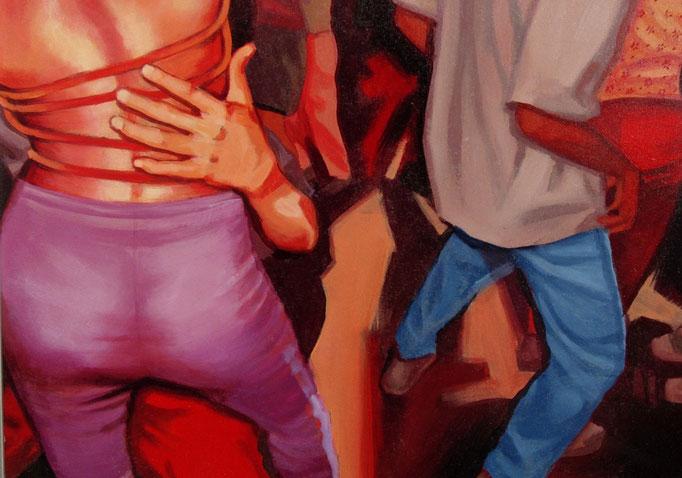 Baile Latino - cm 30x42 - (sold)