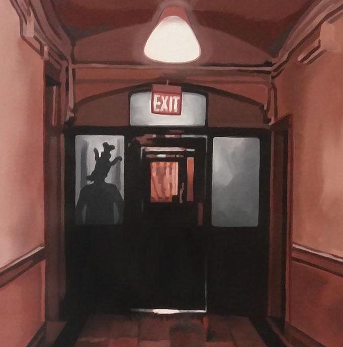 Exit - cm 40x40 - (venduto)