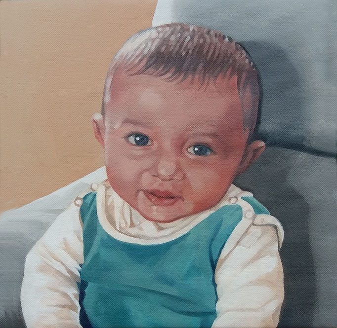 The eldest - cm 40x40 - (sold)