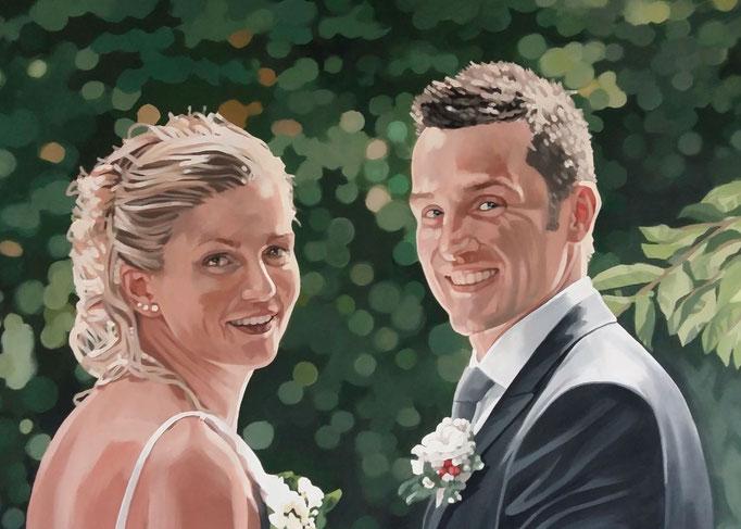 Ok newlyweds - 68x90 - (sold)