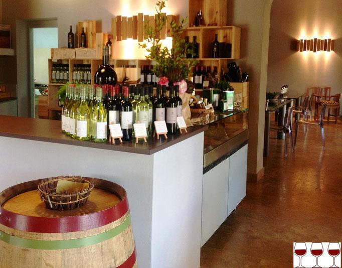 Fattoria le Mortelle, azienda vitivinicola di Antinori in Castiglion Della Pescaia (GR).  Foto blog Etesiaca