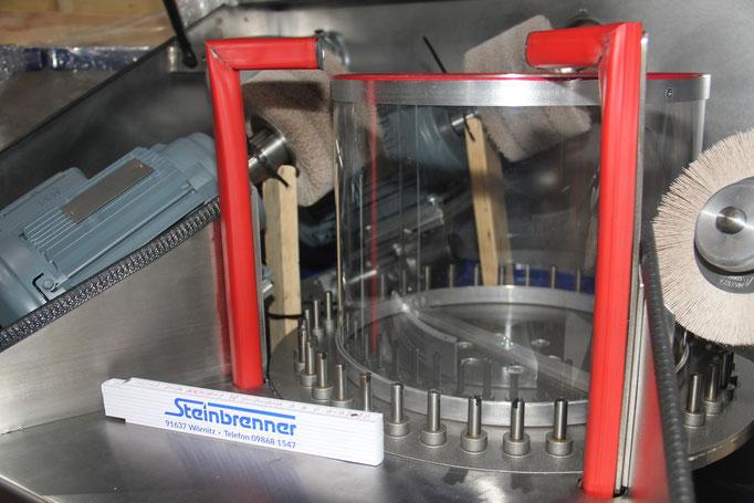 Spezialanfertigung Maschinenbau: Bürstenmaschine