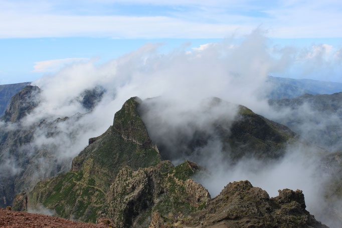 Stunning view from Pico Ruivo