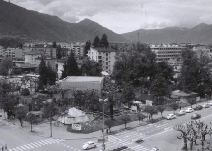 Cantiere della Gioventù ai Giardini Rusca Locarno 1971