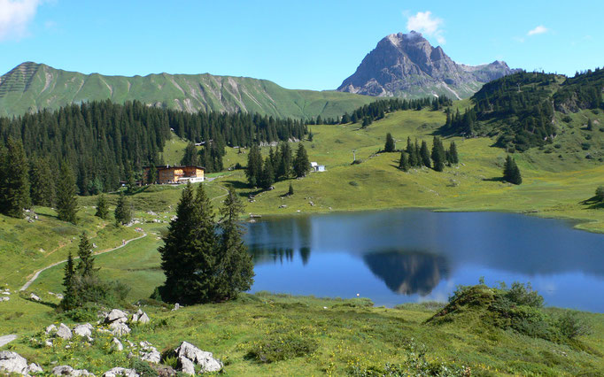 Lechquelldurchquerung, Durchquerung der Lechtaler, Lechquellen Runde, Wanderung zur Lechquelle, Lechquelle