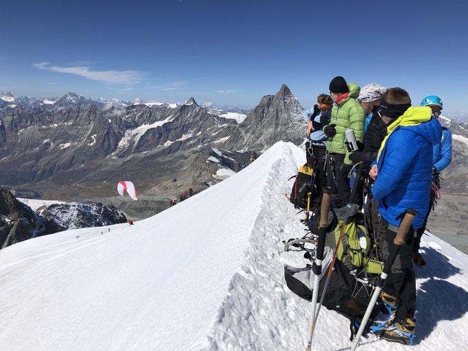 Wallis schwer, Wallis Durchquerung, Monterosa Durchquerung, 13 x 4000m