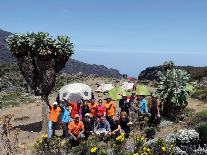 Barranco Camp, Kilimanjaro besteigen, Detailinfos Kilimanjaro, Auf den Kilimanjaro, Bergtour Kilimanjaro