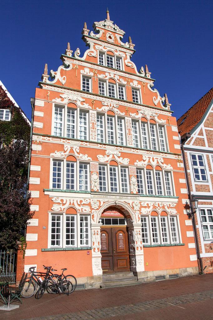 Stade - das Bürgermeister-Hintze-Hauses von 1621.