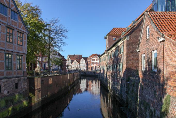 Hansestadt Stade -  Kleine Gassen und viele historische Häuser - Ein Bummel durch Stade lohnt sich.