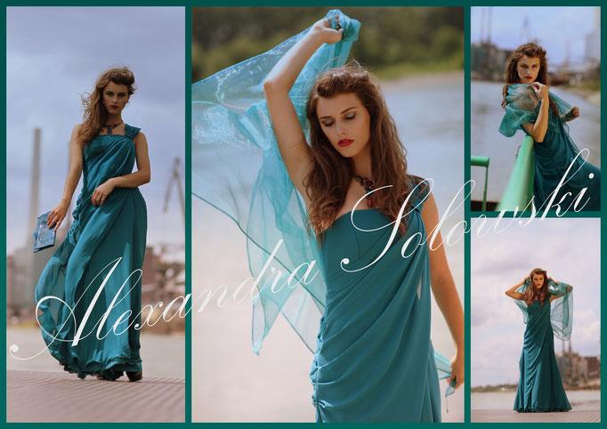 Abendkleid ausleihen Kostümverleih Solowski