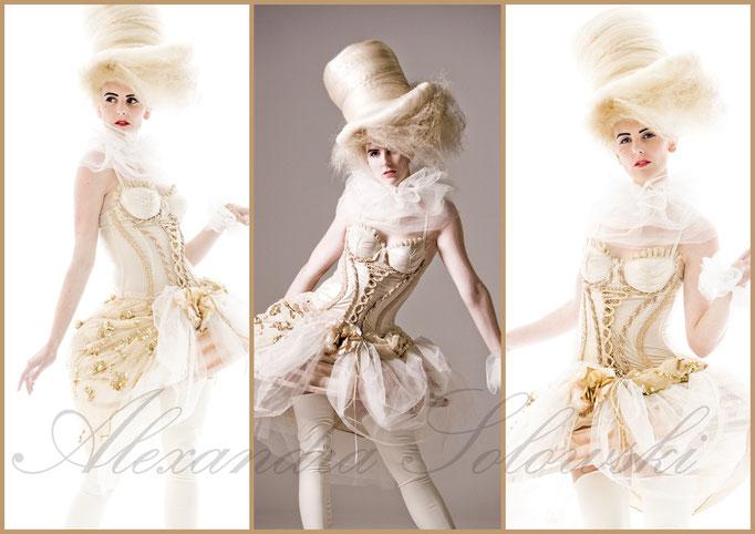 Barockdesign Alexnadra Solowski, Foto Thommy Mardo, P.A.M. Hair Style
