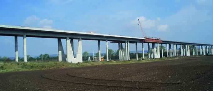 Neubau der Gänsebachtalbrücke