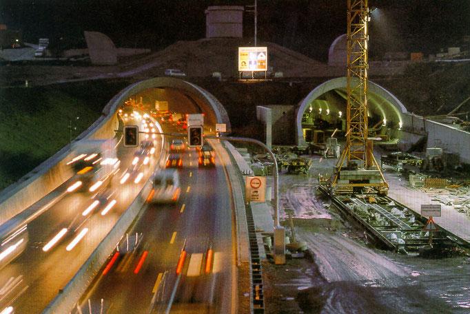 Engelbergbasistunnel Portal