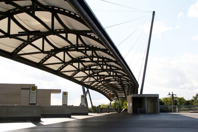 Parkhaus und Busbahnhof WieslochWalldorf