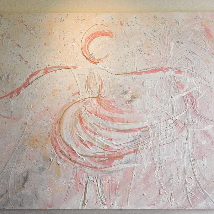 Dance in the rain 80 x 120 cm