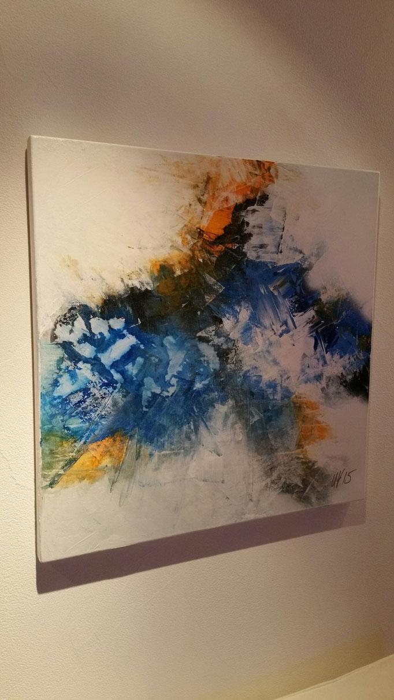 Eiskristall 90 x 90 cm