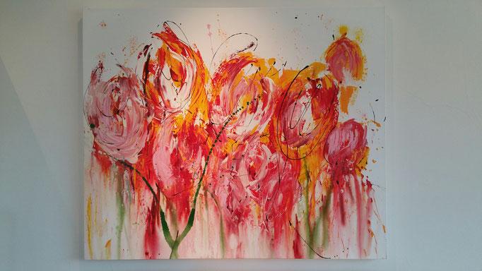 Springtime 2016   100x120 cm