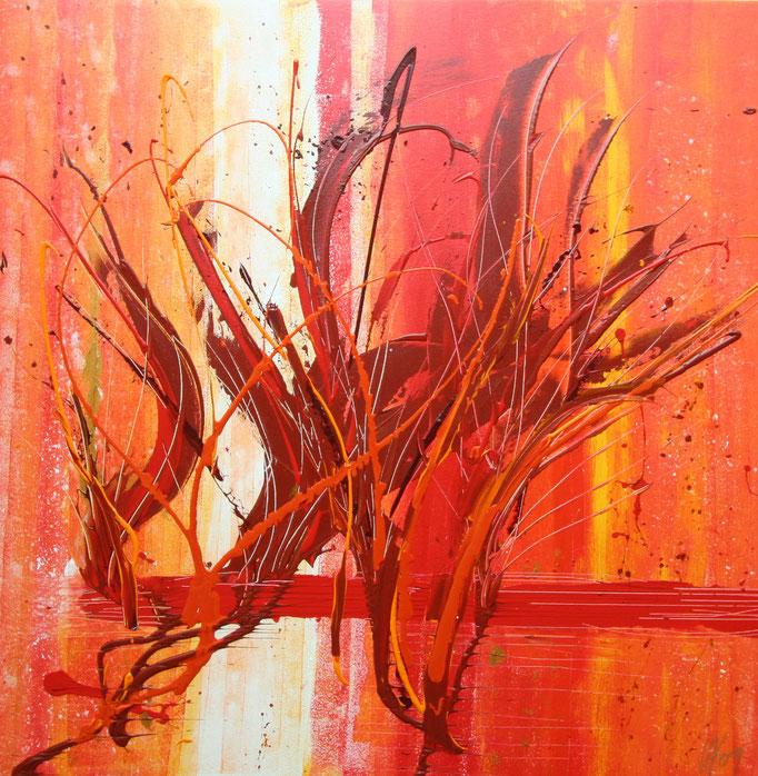 Roots 80 x 80 cm