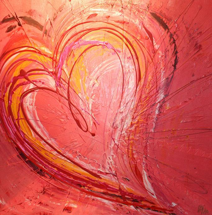 Love (big) 80 x 80 cm
