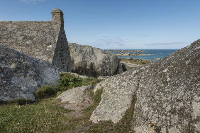 Meneham - Altes Wächterhaus in der Bretagne