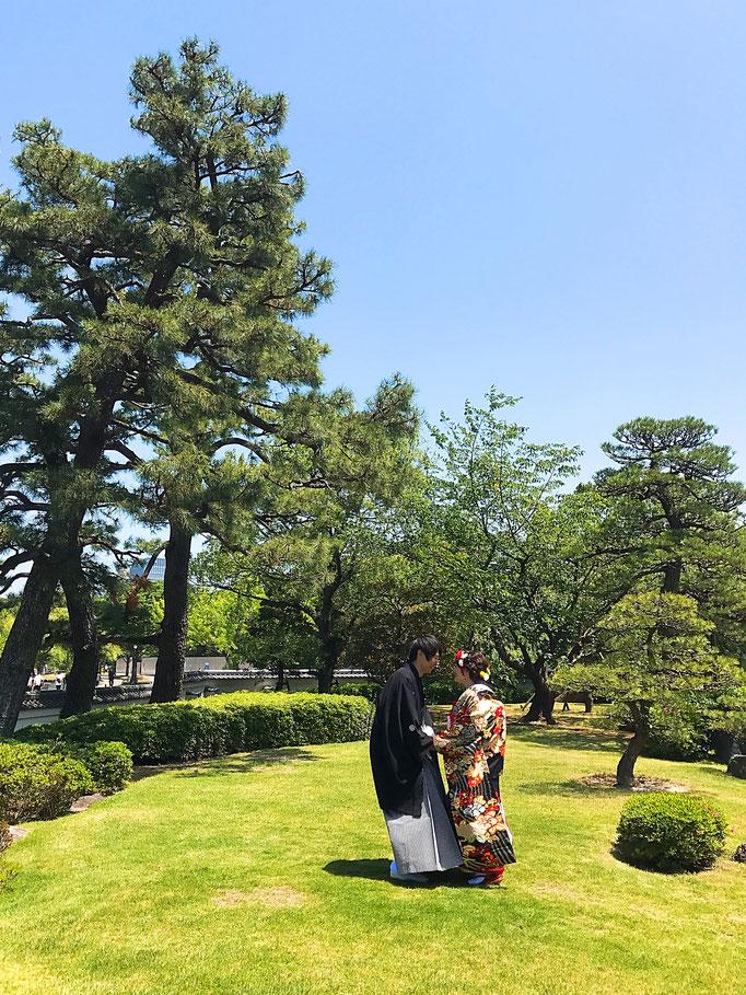 撮影場所 大濠公園 日本庭園