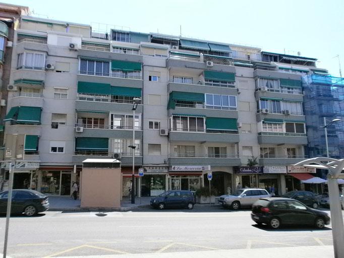 Rehabilitación de Fachadas del Edificio Eman I de Benidorm